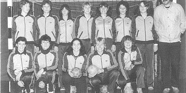 Erste Damenmannschaft zum Jubiläumsjahr