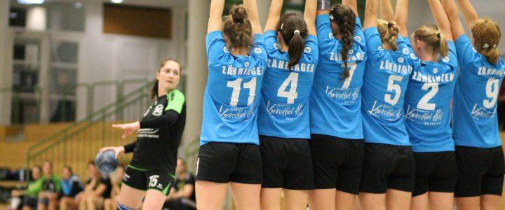 Fotos: Damen 1 im Pokal in Zähringen