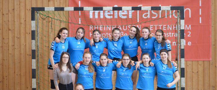Fotos: C-Mädchen in Oberhausen