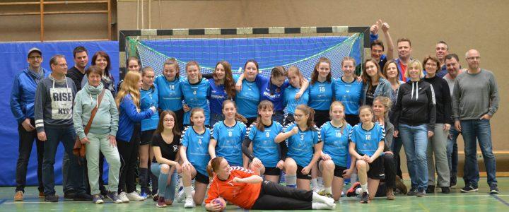 Letztes Heimspiel der weiblichen C-Jugend in der Saison 18/19