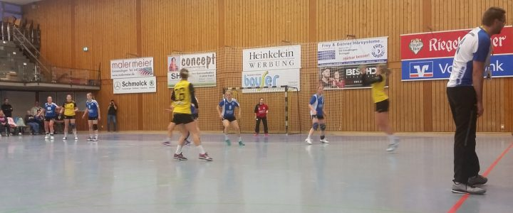 Auch im zweiten Spiel kein Sieg für die SG-Damen
