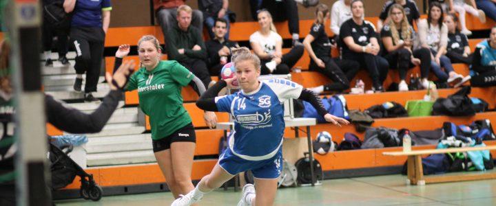 Damen II mit Niederlage im Spitzenspiel gegen den TV Herbolzheim