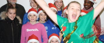 Fotoboxbilder der Jugend-Weihnachtsfeier