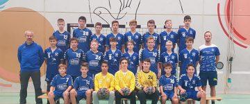 Männliche C1 der SG Waldkirch / Denzlingen startet erfolgreich in die Südbadenliga – Qualifikation.